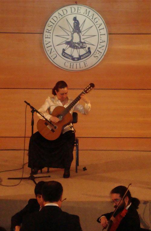 Concierto en la U. de Magallanes, 19 Octubre 2009, Punta Arenas.