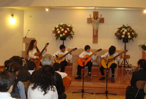Concierto de alumnos de guitarra, 28 de Mayo 2011, Puente Alto.