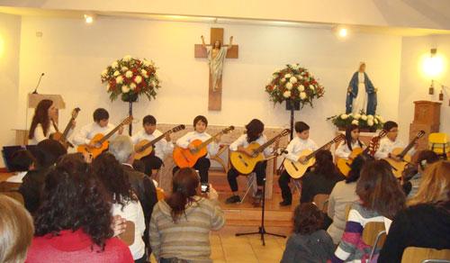 Concierto de alumnos de Guitarra, Sábado 28 de Mayo, 2011.