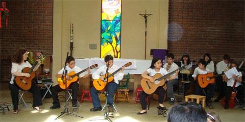 Concierto de fin de año, Templo Luterano, Diciembre 2009.