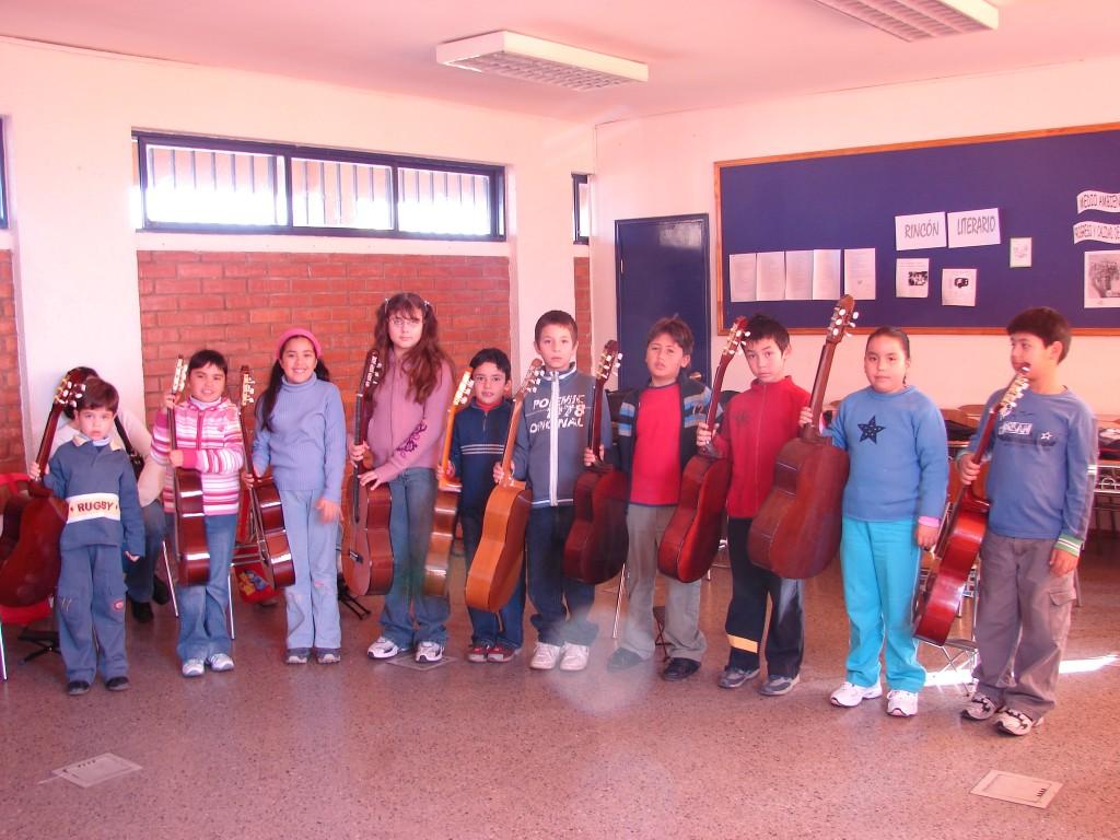 Colegio Monte de Asís, Grupo 1, 2008.